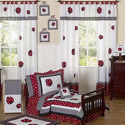 sweet jojo toddler bedding sweet jojo designs ladybug toddler bedding collection