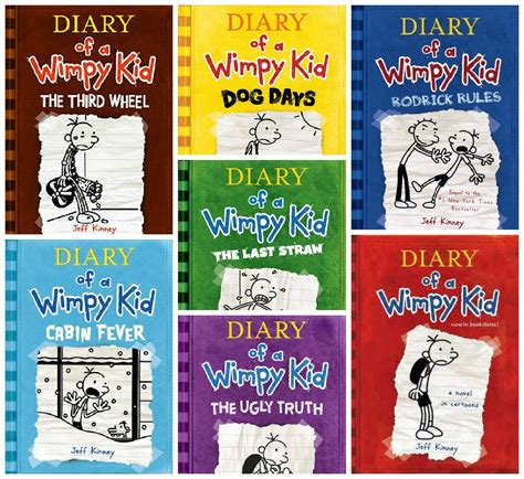 diary of a wimpy kid pictures from the book diary of a wimpy kid series in order