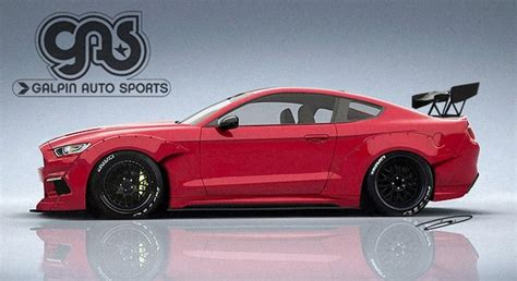 2015 mustang modified 2015 mustang rendered with racing body kit autoevolution