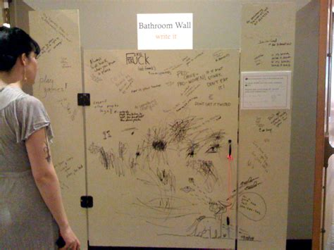 writing on bathroom stalls chapter 7 collaborating with visitors the participatory