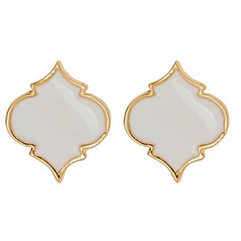 Cincin For Small Adorn Enamel Jewelry enamel spade earrings fornash