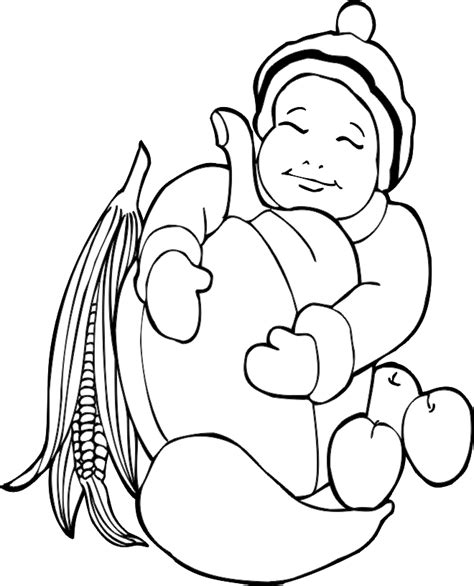 coloring pages fall harvest free printable fall coloring pages for kids best