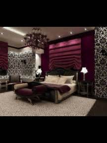 Plum Bedroom Decorating Ideas by This Such A Bedroom With Black And White