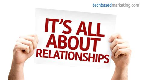 Build Relationships by Build Relationships For The Longterm