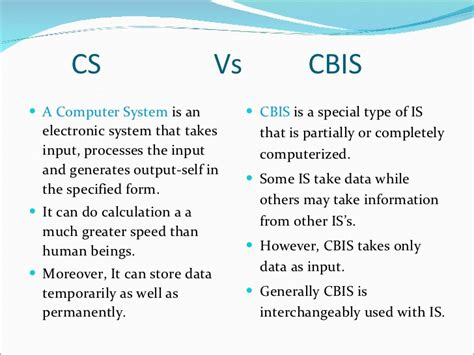 Cs Vs Mba Which Is Better by Information Technology For Business
