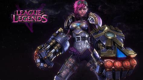 Gamis Vi by Vi From League Of Legends Hd Desktop Wallpaper