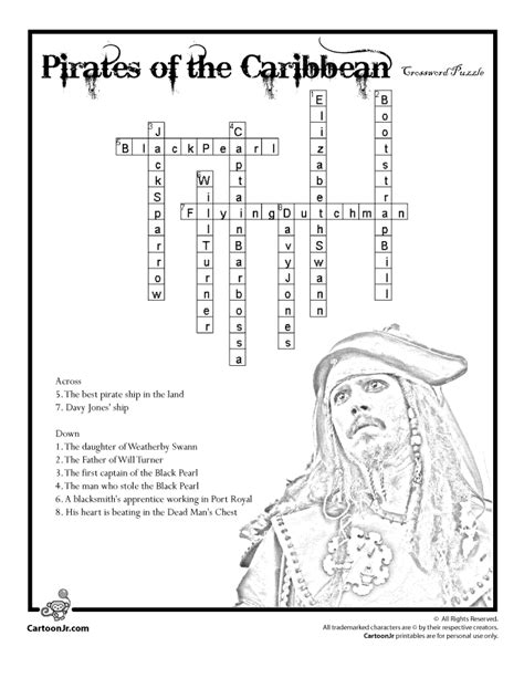 usa today crossword puzzle won t load pirates of the caribbean crossword puzzle answers woo