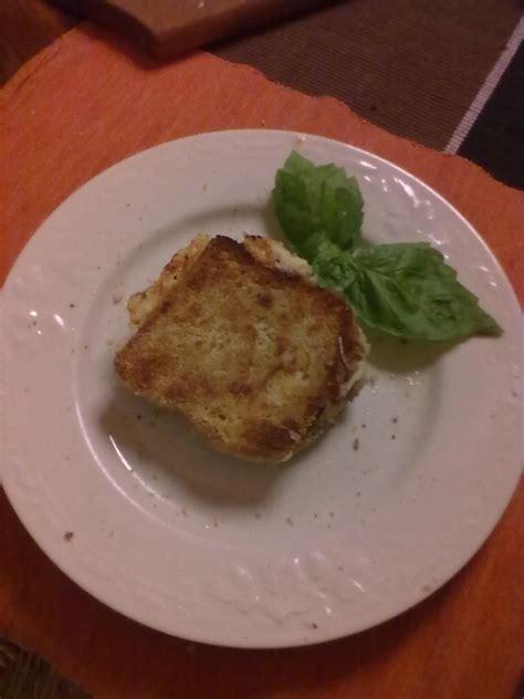 giallo zafferano mozzarella in carrozza mozzarella in carrozza al forno lacucinadiannamaria