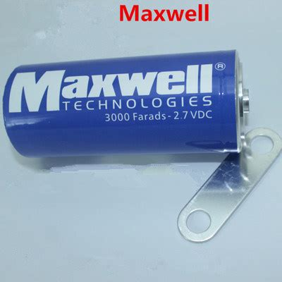 maxwell ultracapacitor lifetime maxwell best price capacitor 2 7v 3000f car battery rechargeable battery buy solar power