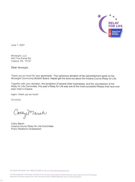 Acknowledgement Letter With Thanks best photos of key receipt letter relay for thank