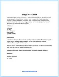 Positive Resignation Letter by Dos And Don Ts For A Resignation Letter
