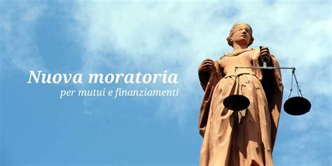 mutui nuova nuova moratoria per mutui e finanziamenti fisco 7