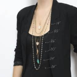 necklace length guide w style