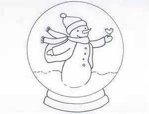 snow globe coloring page snow globe coloring pages coloring home