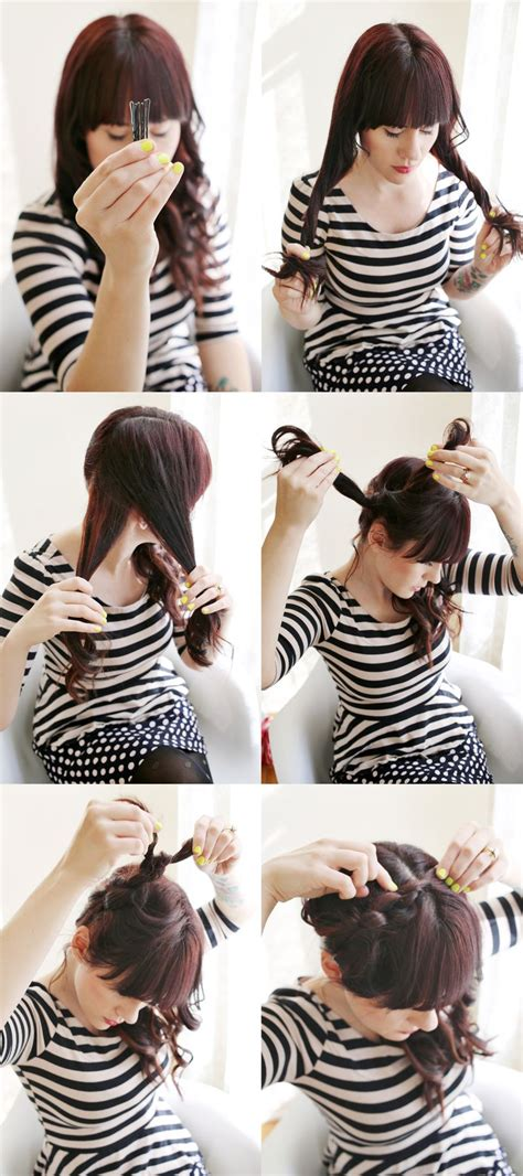 haircut with directions how to style a knot hairstyle a beautiful mess