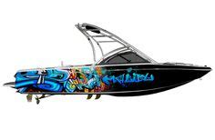 supra boats banner this boat floats above the rest with this neon color