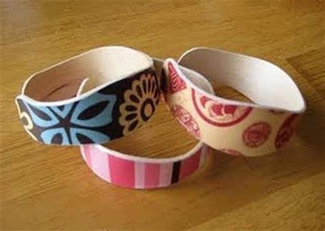 Cool Things To Make Out Of Toilet Paper Rolls - pulseira de madeira de palito de picol 233 artesanato passo