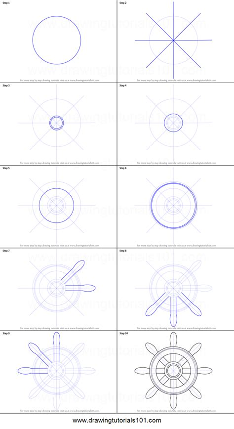 how to draw a boat house how to draw a boat wheel printable step by step drawing