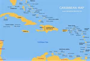 Map Caribbean Islands by Outline Map Of The Caribbean Islands