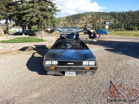 delorean with flux capacitor 1981 delorean with flux capacitor