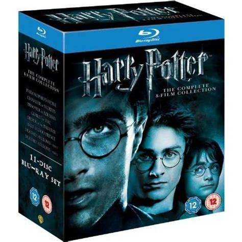 film blu usa harry potter the complete 8 film collection blu ray box