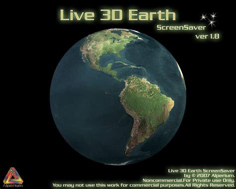 wallpaper of earth rotating rotating earth screensaver