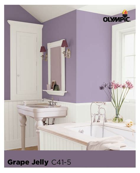 Plum Colored Bathrooms by Plum Colored Bathroom Accessories Startling Grey