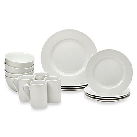 bed bath and beyond dishes tabletops gallery 174 soleil 16 piece dinnerware set bed