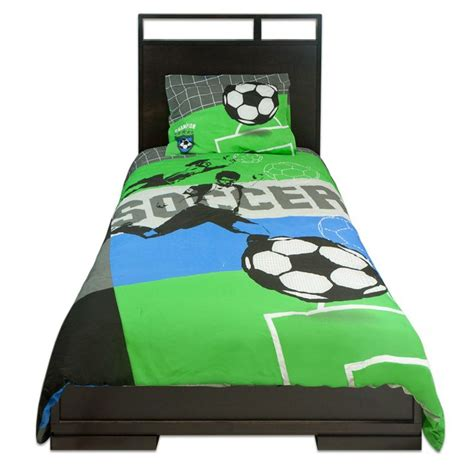 soccer bedrooms twin comforter set 39 quot soccer
