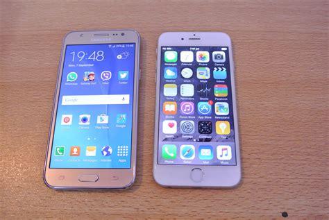 Samsung J5 Vs Iphone 5 Samsung Galaxy J5 Vs Iphone 6 Comparison Hd Doovi