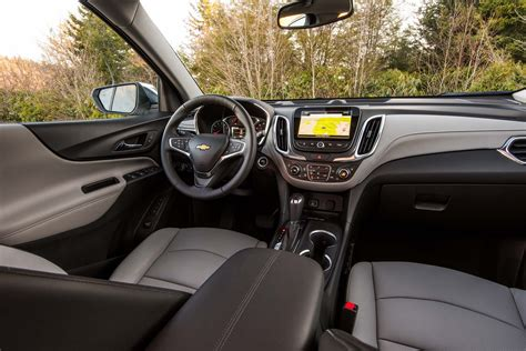 chevrolet equinox 2017 interior back to back 2018 chevrolet equinox 2 0t awd premier and