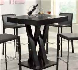high top table bar height tables dining room furniture