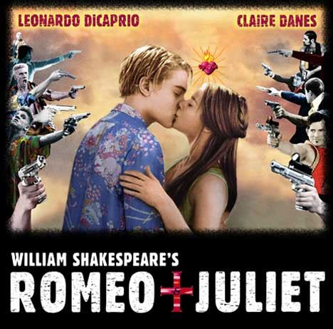 romeo and juliet modern themes romeo juliet trailer and poster young hearts run free