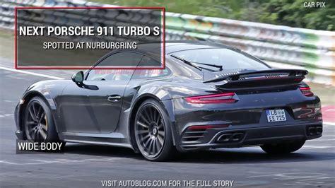 porsche 911 horsepower 700 horsepower porsche gt2 rs is the wildest 911