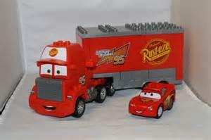 Lightning Mcqueen Lego Car Mega Bloks Mack Truck And Lego Lightning Mcqueen From