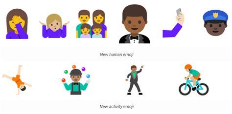 android new emoji tweede preview versie android n uitgebracht want
