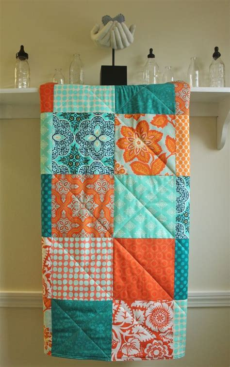178 Best Images About Trending Tangerine Turquoise On Turquoise And Orange Crib Bedding