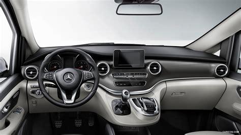 mercedes benz v class 2015 interior