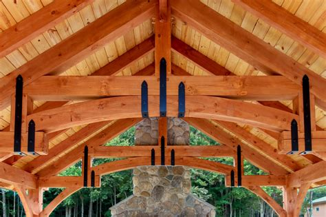 alpine designs timber frame homes new outdoor pavilion the alpine the barn yard great