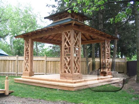 outdoor hardtop gazebo 10 x13 pergola kits patio grilling