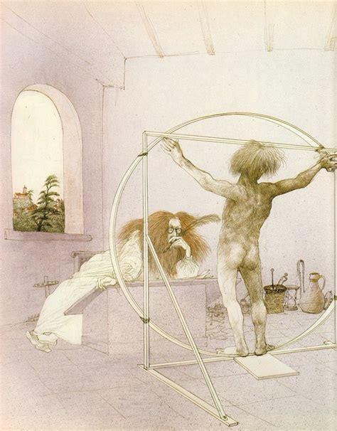 biography artist leonardo da vinci ralph steadman s wildly illustrated biography of leonardo
