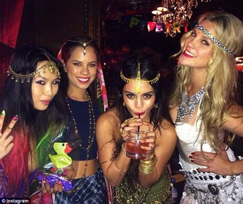 bollywood hot themes com vanessa hudgens helps sister celebrate 18th with bollywood