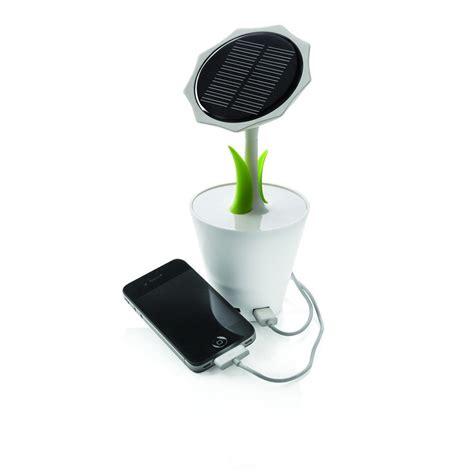 lade da giardino a energia solare caricabatterie solare girasole regali it