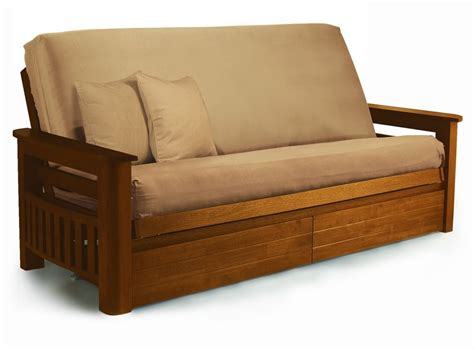 wooden frame settee wooden frame sofa bed arizona futon sets wooden futon