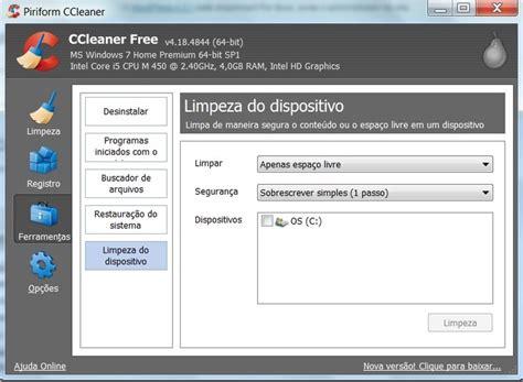 ccleaner qual o melhor ccleaner ou privazer qual o melhor programa para limpar o
