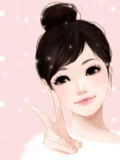 wallpaper cute korean girl cartoon cute korean anime www pixshark com images galleries