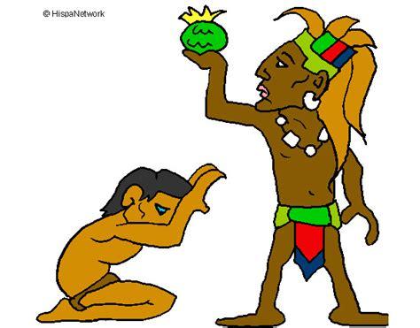 Imagenes De Los Mayas Animados | dibujo de los mayas pintado por danijas en dibujos net el
