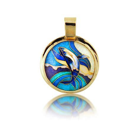 how to make enamel jewelry cloisonne jewelry breaching whale enamel jewelry by