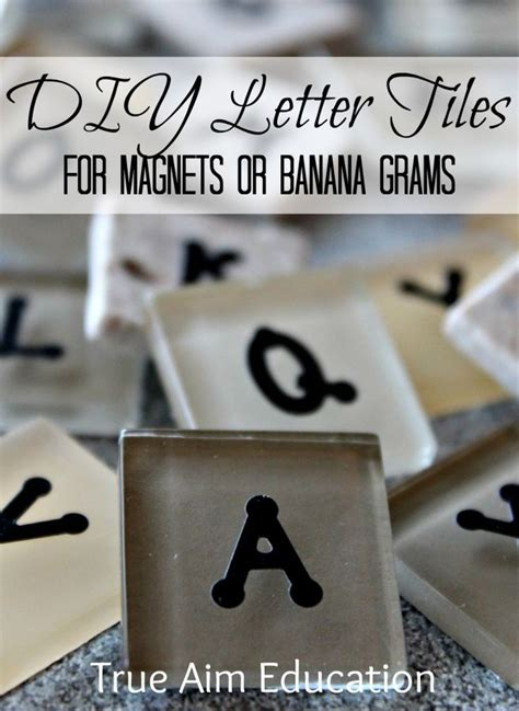 printable bananagrams instructions diy bananagrams letter tiles play kitchen sets skee