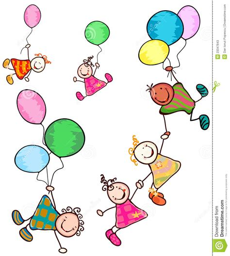 immagini clipart bambini bambini felici illustrazione vettoriale illustrazione di